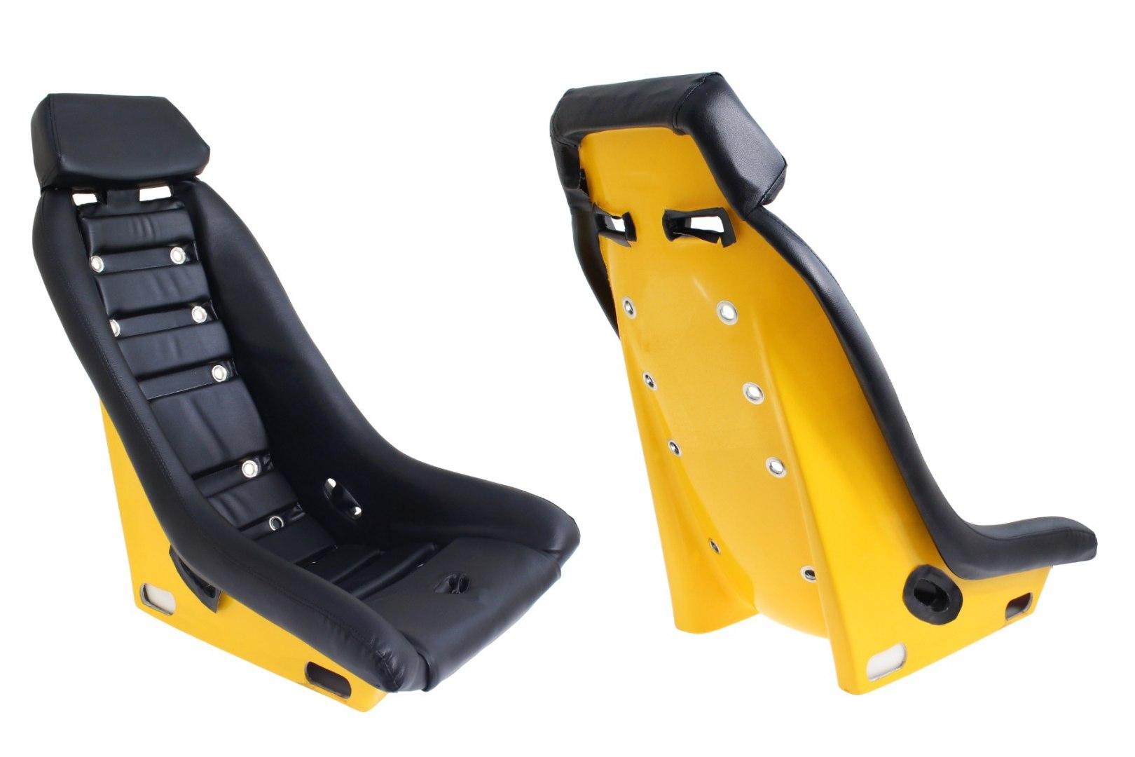 Fotel sportowy DJL RS023 Offroad Gokart - GRUBYGARAGE - Sklep Tuningowy